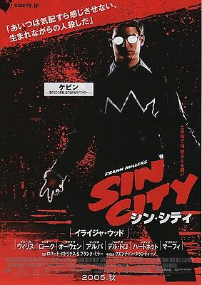 A Dame to Kill For MOVIE FLYER Mini Poster Chirashi Japanese Sin City