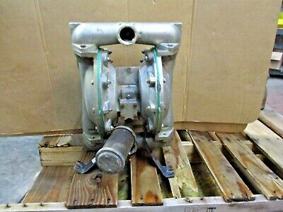 "Aro / Ingersoll-Rand 1-1/2"" Stainless Diaphragm Pump, #1230930J Used"