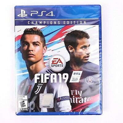 Playstation 4 PS4 Fifa 19 Champions Edition Video Game
