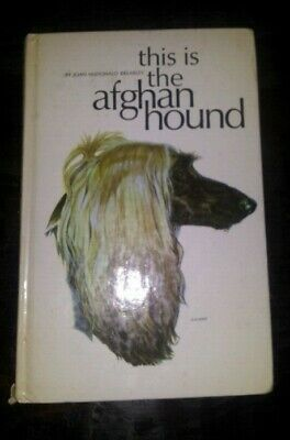 This Is The Afghan Hound - Joan McDonald Brearley - 1965
