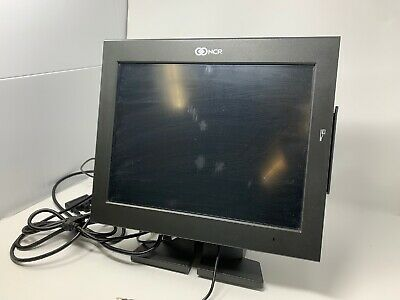 "Ncr 15"" Touchscreen Monitor With Card Reader – Model 7754-0028-8801 - Used"