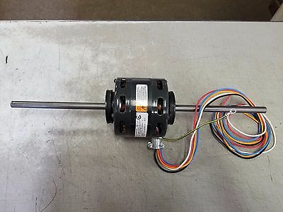 "Dayton 4M163A 1/8Hp 115/1/60 1550 Rpm 4 Speed Dual 1/2"" Shaft Blower Motor"