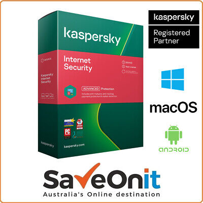 Kaspersky Internet Security 2020 1 PC 1 Years Windows Android iOS  Email license