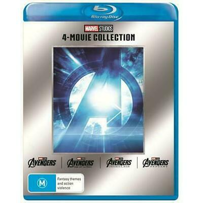 Avengers 4 Movie Collection Blu-ray BRAND NEW Infinity War Endgame 1 2 3 4