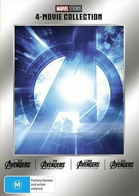 Avengers 4 Movie Collection BRAND NEW R4 Age Of Ultron Infinity War Endgame DVD