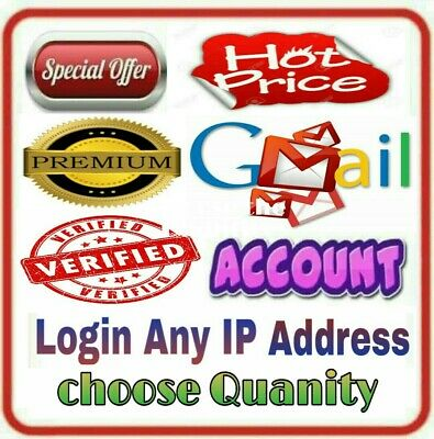 Gmail Google Accounts 2014 ,  2012 , 2010 & Older Aged Gmail Accounts
