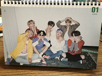 BTS 2019 SEASONS GREETINGS Official Index Paper Set+ BTS Tapes+ ID Photo+ PC