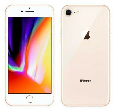 Apple iPhone 8 64GB A1905 GSM iOS Smartphone Sans contrat Or Gold Désimlocké