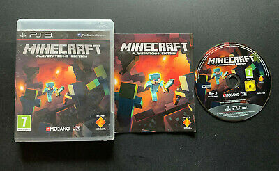 Minecraft PlayStation 3 Edition PS3 Play Station 3 PAL Française Fra