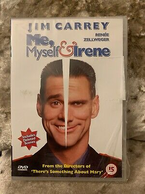 Me Myself and Irene  with Jim Carrey New And Sealed(DVD  2000)