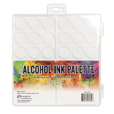 RANGER - Tim Holtz Alcohol Ink Palette 36 Compartments with Hinged LidTAC58526