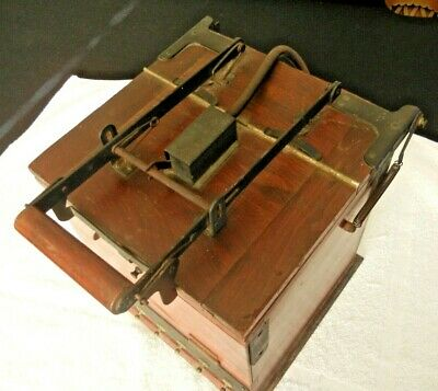 Vintage Wooden Photography Contact Printer Collector's Showpiece.