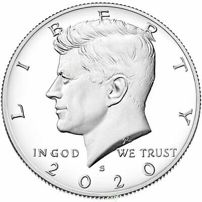 2020 S Kennedy Half Dollar Coin 50C Deep Cameo Best Price Buy more and Save Big
