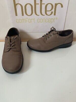 Hotter Stream Smart Leather Shoes Size UK 4.5 EU 37.5