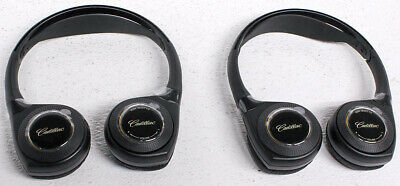 22809929 OEM Cadillac Escalade Wireless Headphones Pair - Set of 2