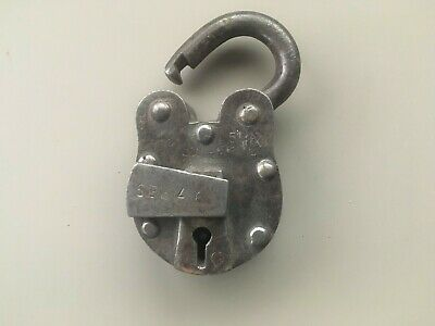 Antique 7 Lever Turkish Bank Lock