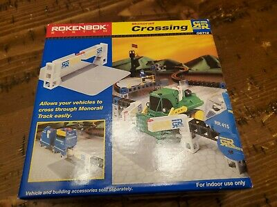 Monorail Crossing Set #06712 Rokenbok System Building 2001 NEW in Box