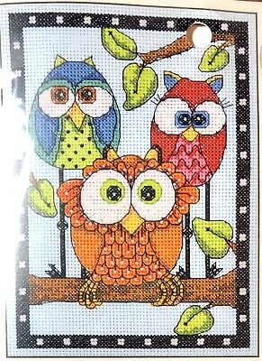 Dimensions Mini Counted Cross Stitch Kit Be a Flamingo D70-65168