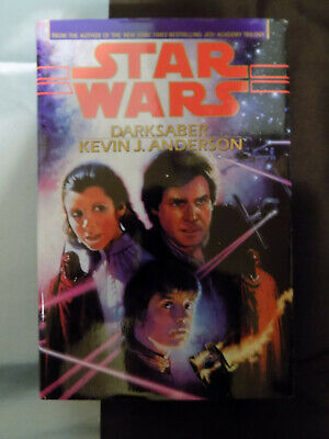 Star Wars Darksaber Hardcover By Kevin J. Anderson Book Club Edition!