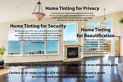 Business for sale Residential Windows tinting