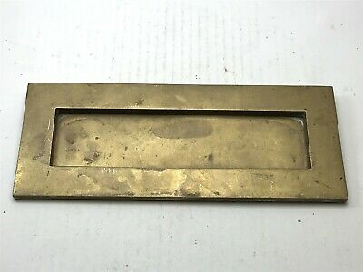 Antique Brass Letter Box 10 x 4 Inch (Slot = 8 x 2 Inch) <HM02 (T37)