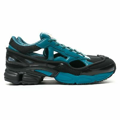 ADIDAS BY RAF SIMONS Black & Blue RS Replicant Ozweego Lace up Classic Trainers