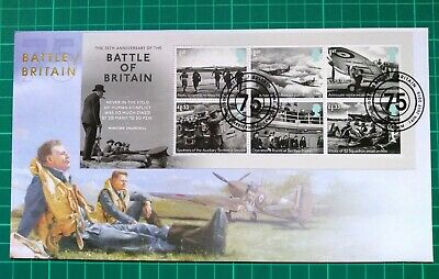 Buckingham Covers 2015 Battle of Britain Miniature sheet FIRST DAY COVER