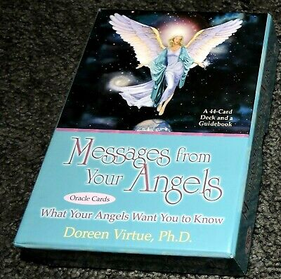 Tarot Cards 44 Oracle Messages From Your Angels Doreen Virtue Book Accurate Easy
