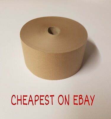 Gummed Tape 70mm x 200m Picture Framing Tape Gum Tape Gummed Paper PROMO POST