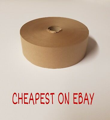 "Gummed Tape 48mm x 200m Picture Framing Tape 2"" Gum Tape Gummed Paper PROMO POST"