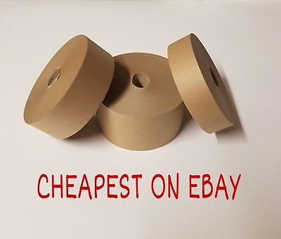 Gummed Paper Tape 36Mm 48Mm 70Mm 90Mm X 200M Picture Framing Gum Tape Promo Post