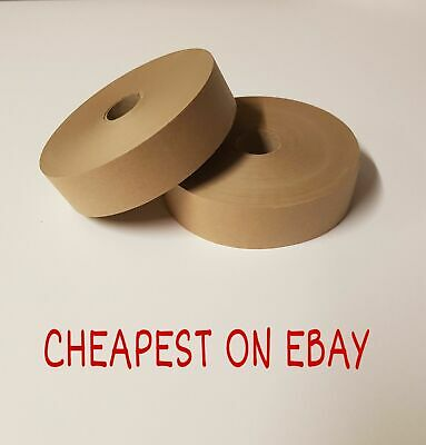 Gummed Tape 36mm x 200m Picture Framing Tape Gum Strip Tape Gummed Paper 2 Rolls