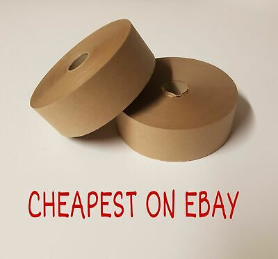Gummed Tape 48mm x 200m Picture Framing Tape Gum Strip Tape Gummed Paper 2 Rolls