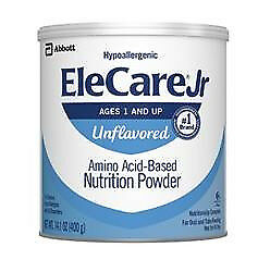 EleCare Jr Unflavored 6 can lot 14.1oz cans