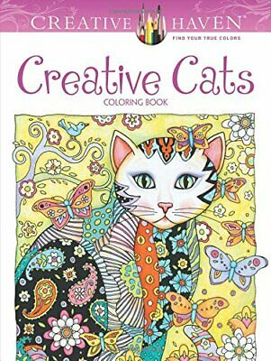 CREATIVE CATS -  Adult Colouring Book - Anti-Stress - Colour Therapy