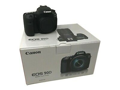 Canon EOS 90D Camera Body - 2 Year Warranty - UK NEXT DAY DELIVERY