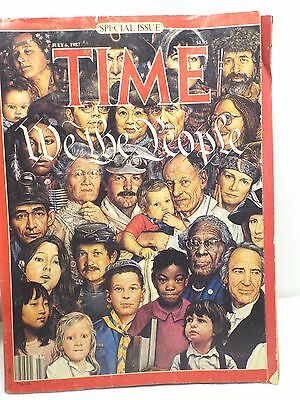 Time Magazine July 6 1987 We The People Special Issue Collector's Edition Bonus