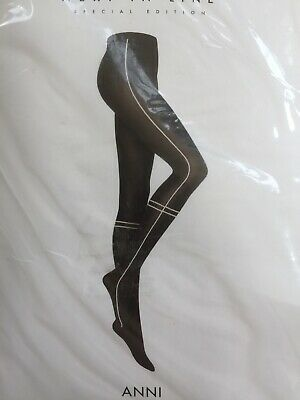 New Wolford Amara Tights size Tint//Black 14479  60 Den Extra Small Color