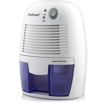 Pro Breeze 500ml Compact and Portable Mini Air Dehumidifier for Damp, Mould, in