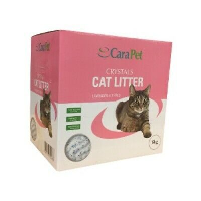 Cara Pet Cat Litter Crystals Lavender Scented Non-Toxic