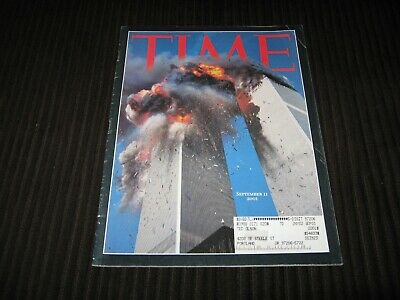 Time Magazine September 11, 2001 - Commemorative Issue - Twin Towers -