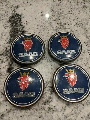 SAAB SCANIA Set Of 4 Center Caps