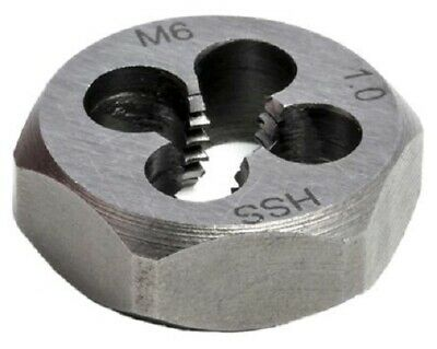 RS Pro DIE NUT 1/4″ Thick, M6 Thread, 1mm Pitch, Metric High Speed Steel