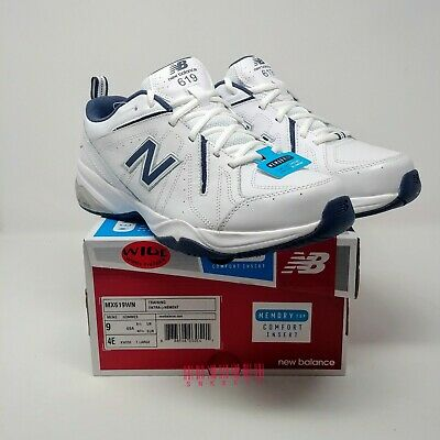 619 v1 Cross-Trainers Laces Navy/White