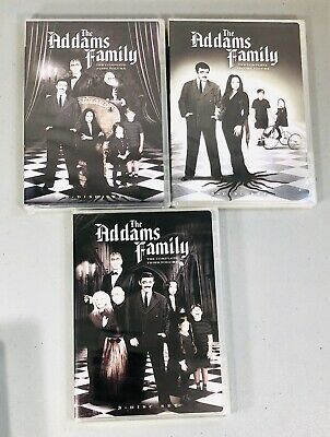 The Addams Family - Volume 1  2 & 3 (DVD) Classic TV Series 9 Discs NEW!