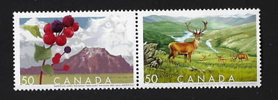 Canada Stamps — 2005, Biosphere Reserves #2106a (Pair #2105-2106) — MNH