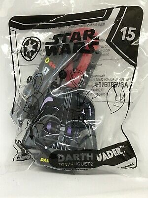 McDonalds Happy Meal Toy Star Wars Darth Vader #15 New 2019 Backpack Clip