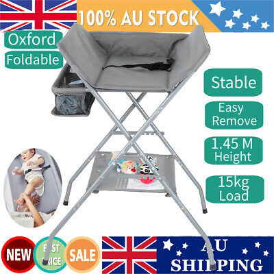 AU Infant Baby Changing Table Folding Diaper Station Nursery Organizer New