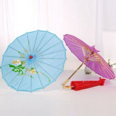 Chinese Oil Paper Umbrella Art Decor Painted Parasol for Wedding Party Gffa