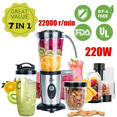 BLENDER FOOD PROCESSOR Smoothie Maker Mixer Fruit Juicer